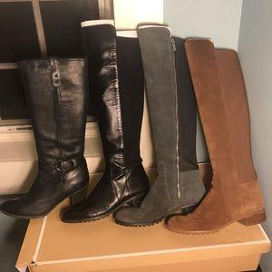 Michael Kors and Blondo boots sz 10w width M.